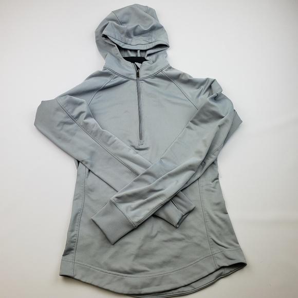 1/4 zip nike hoodie